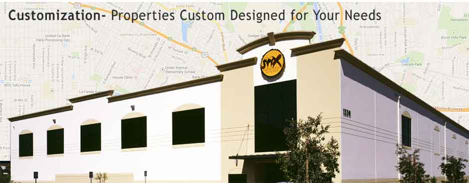 Customization - Properties Designed for Your Needs